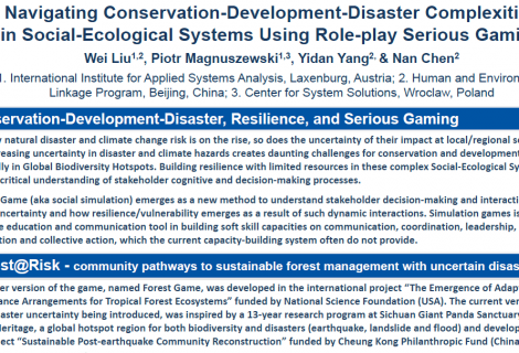 The Forest@Risk-focused poster from Resilience Conference is now available online!
