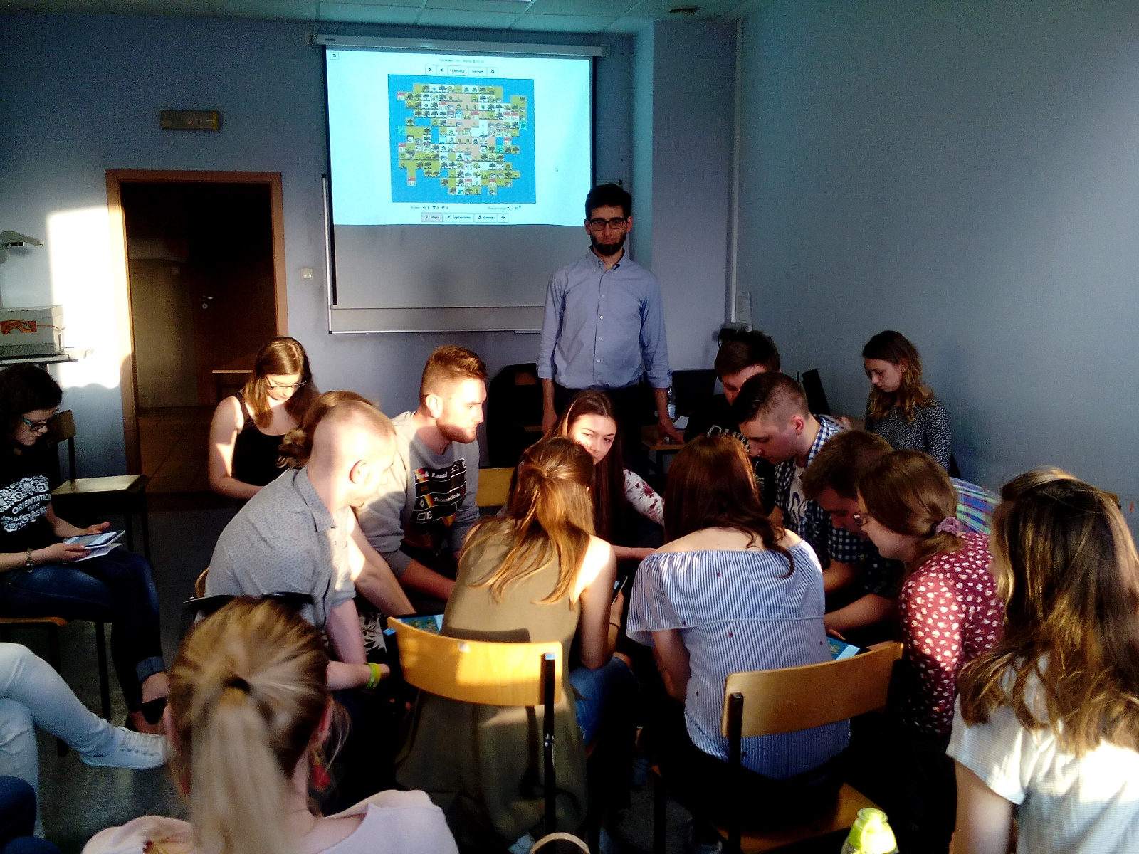 Workshop with New Shores at Wrocław University of Economics