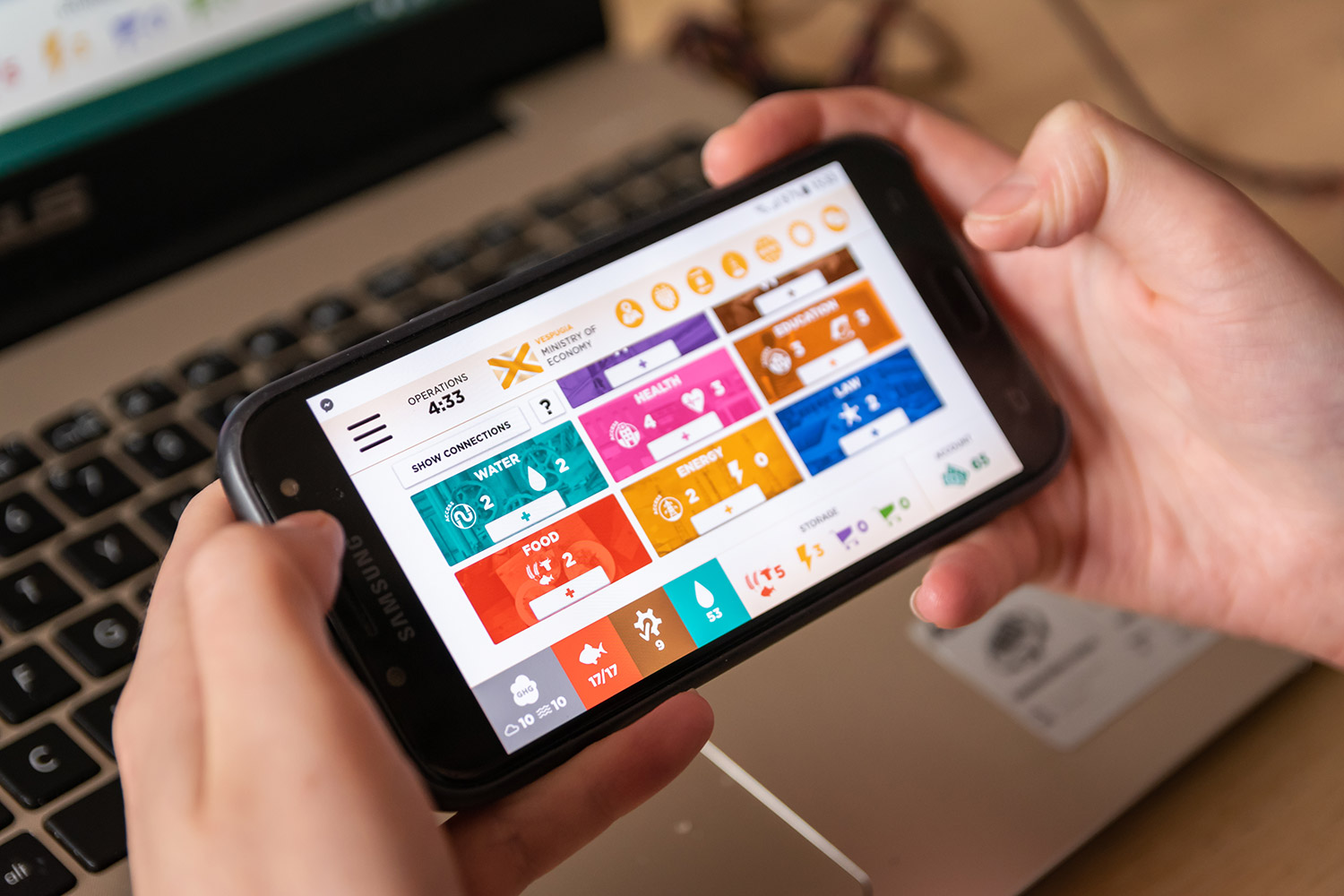 Register for SDGs in action! The World's Future Online simulation