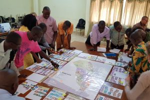 Nakambe strategic simulation in Ouagadougou, Burkina Faso