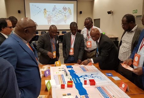 Nexus Game at the 5th Targeted Regional Workshop for GEF IW projects in Africa, Gaborone, Botswana