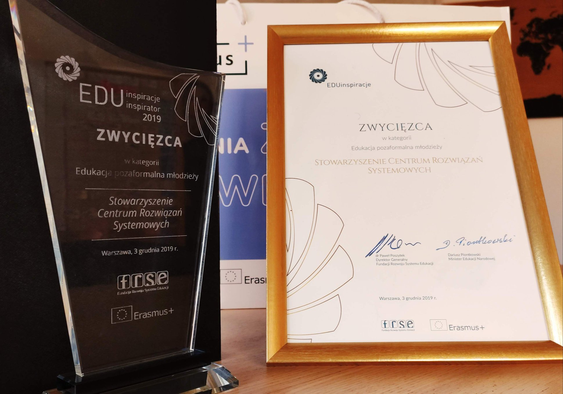 New Shores among the EduInspiracje Award winners