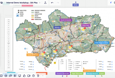 Internal workshop on systems mapping – Forging Resilient Regions